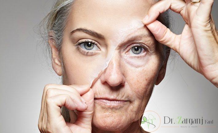 در چه سنی و چه عواملی موجب افتادگی پوست می شود؟