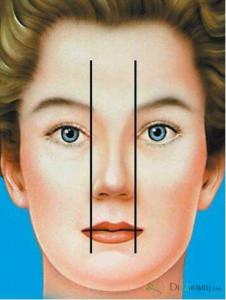 پهنای پایه بینی