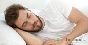 طرز خوابیدن بعد از تزریق ژل
