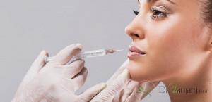 درمان گلوله شدن ژل صورت