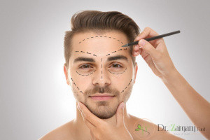 در چه نواحی از بدن وصورت آقایان می توان از لیزر برای از بین بردن مو های زائد استفاده کرد ؟