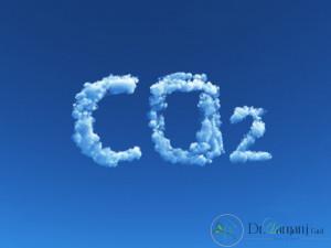 غلظت گاز دی اکسید کربن