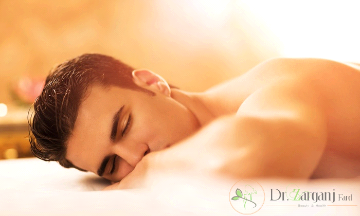 درمان خشکی پوست با ماساژ ریلکس آقایان :