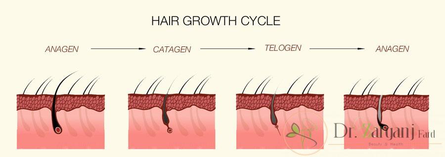 رفع موهای زائد بدون ریشه کن شدن