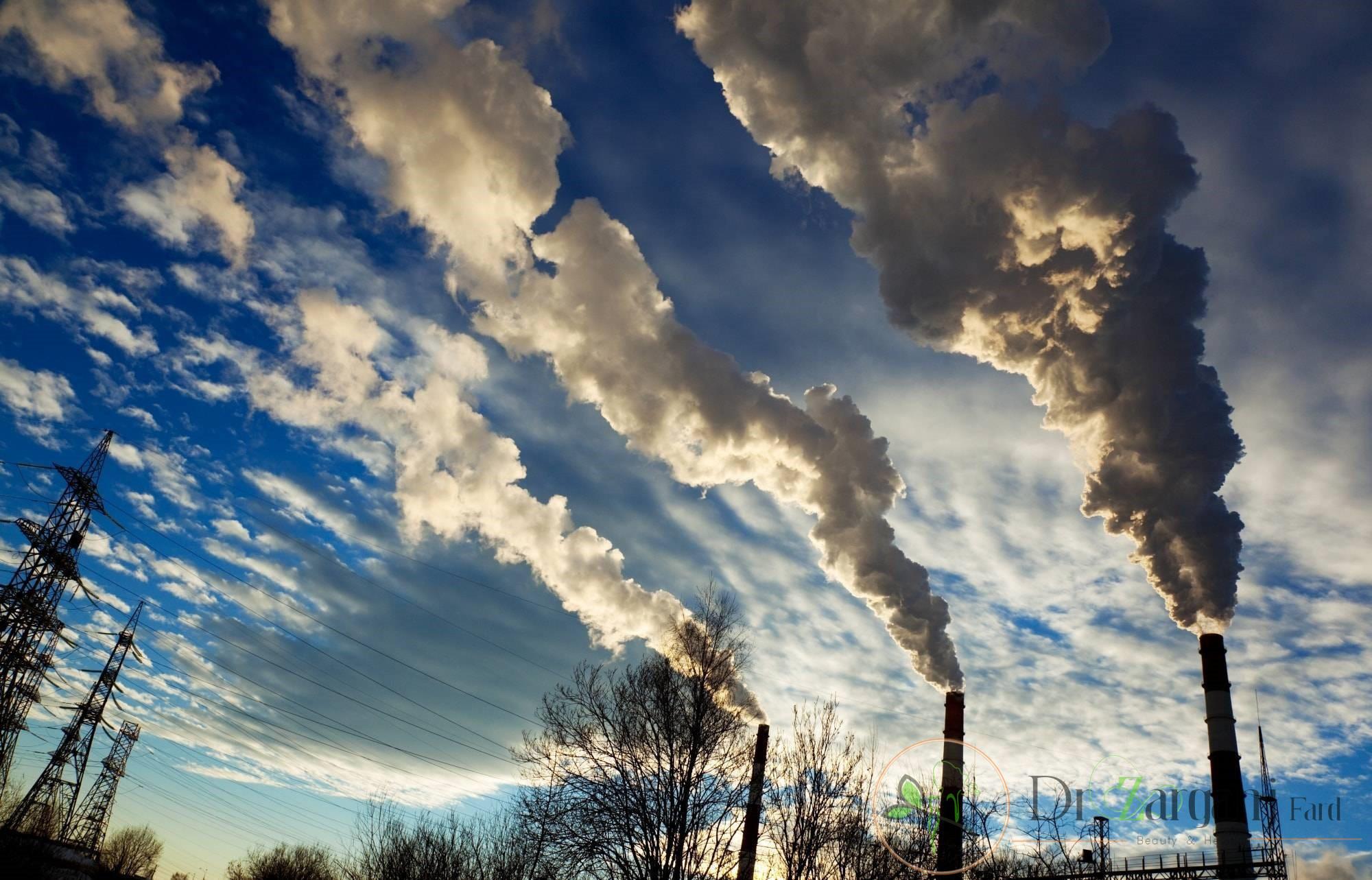 آب و هوا آلوده