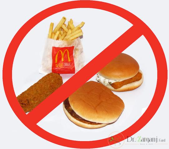 مواد غذایی مضر بعد از انجام عمل لابیاپلاستی