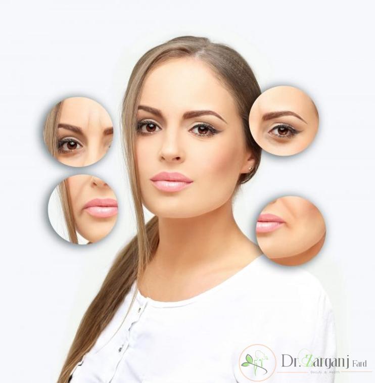 بوتاکس و تغییرات در سطح پوست
