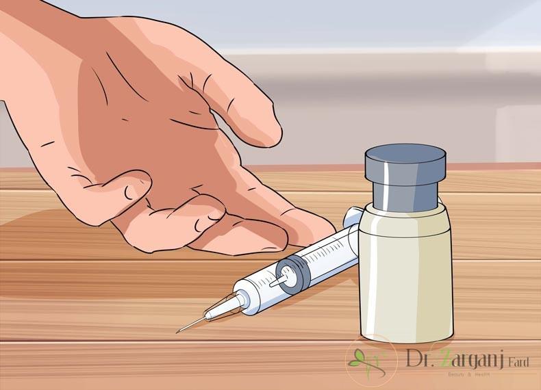 روش کار در تزریق بوتاکس برای تعریق کف دست