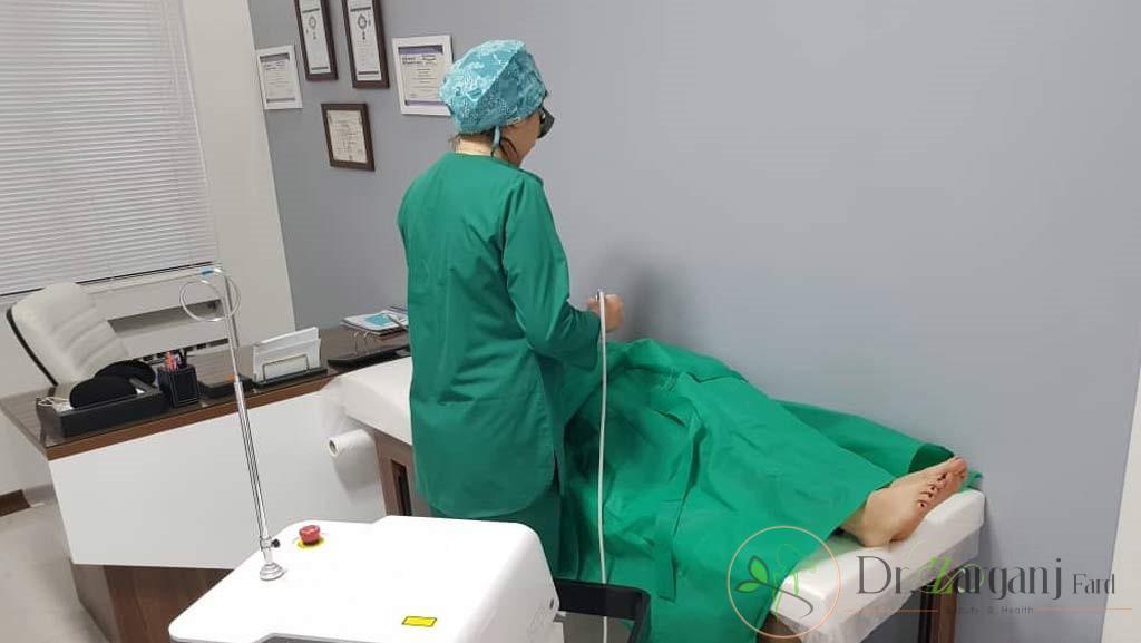 بانوانی که دارای عفونت و زخم های درون واژن می باشند: