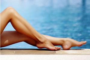 کربوکسی تراپی ساق پا