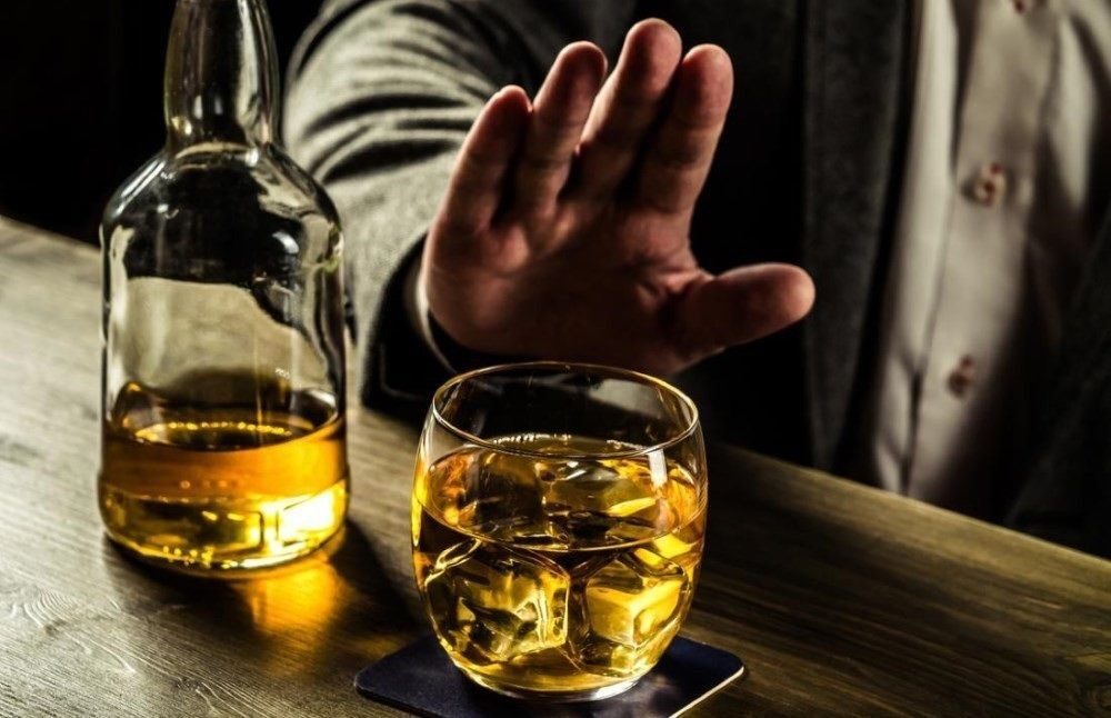 عدم مصرف مشروبات الکلی